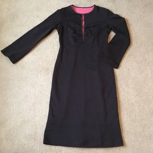 Double knit dress. A little sparkle. Size 8/10.